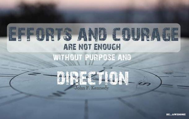 Purpose:Direction